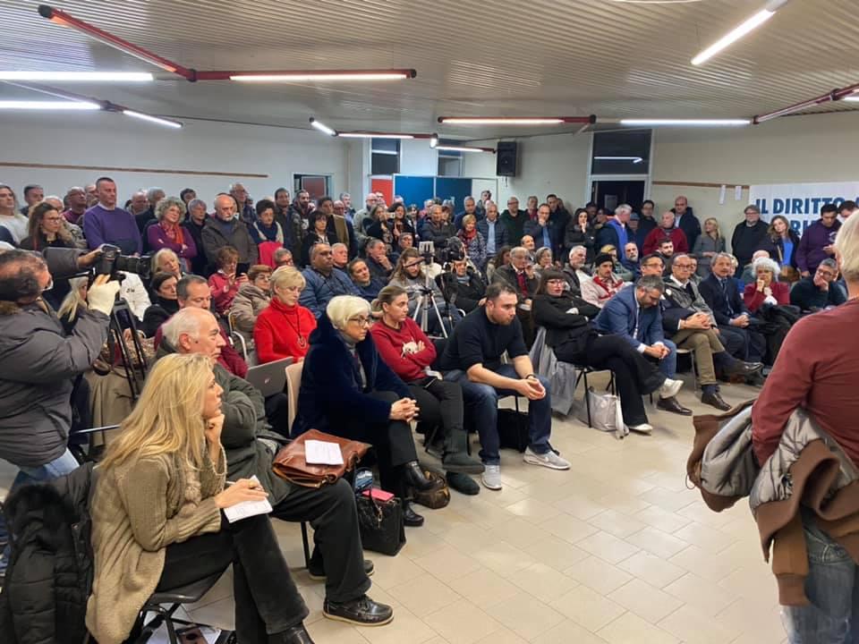 L'assemblea a Stagno per l'ambiente e la BioRaffineria.
