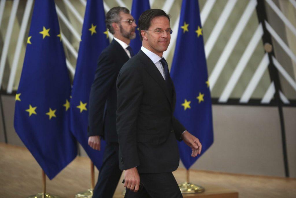"""Il Primo Ministro Olandese Mark Rutte, leader dei cosiddetti """"Paesi frugali"""". Il Recovery Fund è quasi un Recovery MES a causa loro."""